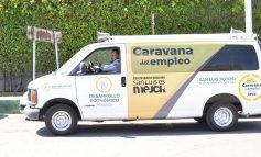 Por semana, Caravana del Empleo atiende mil solicitudes de potosinos