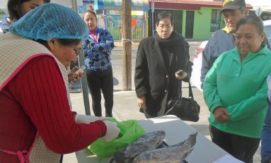 Venta de pescado a bajos precios en diversos puntos de venta y Delegaciones