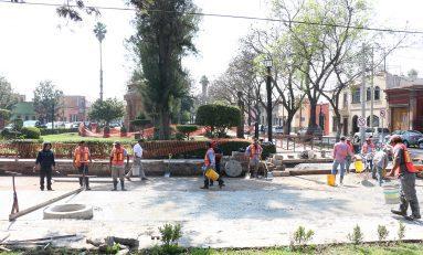En breve finalizarán las obras de rehabilitación en paso de Sevilla y Olmedo