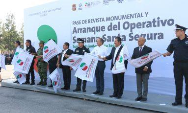 """SLP y Soledad se suman a estrategias de seguridad en """"Operativo Semana Santa 2018"""""""