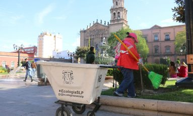 Se recolectan 30 toneladas de basura diarias para mantener óptima imagen del CH