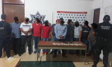 Capturan a 10 polleros, entre ellos a su líder, al liberar a 42 migrantes centroamercianos en Cárdenas SLP