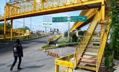 Rehabilitan puente peatonal en Río Santiago para seguridad de las personas
