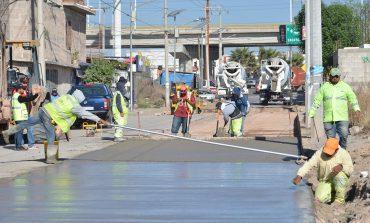 Importante avenida Mexquitic contará con concreto hidráulico de alta resistencia