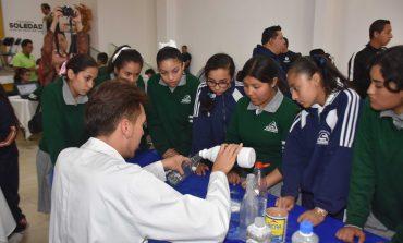 Gran éxito en Feria Municipal de las Ciencias y la Tecnología