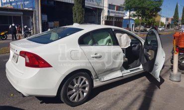 Accidente vial en Santos Degollado