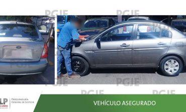 Recuperan vehículo utilizado en robos domiciliarios