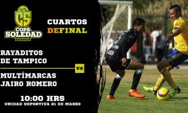 Se definen los cuartos de final en la Copa Soledad 2018 con partidos de alto nivel competitivo