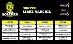Definen grupos de la Copa Soledad 2018