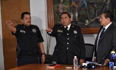 Rinden protestan nuevos mandos de seguridad en Soledad