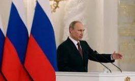 Putin presume nuevo armamento nuclear de Rusia
