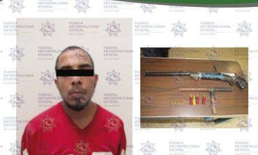 En Arbolitos, detienen a fabricante de armas artesanales