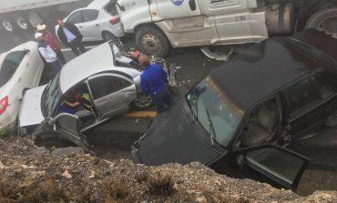 Fallece potosina en fuerte carambola de Carretera Saltillo-Monterrey