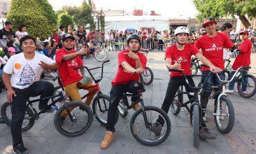 Juventud potosina participa en actividades dentro del Festival de la Cantera