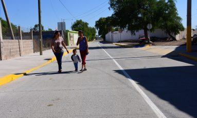 Concluyen segunda etapa de pavimentación de Avenida Las Américas