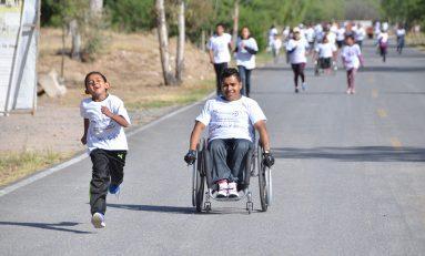 """Con gran entusiasmo, se realizó la carrera y caminata atlética """"Por Una Discapacidad Sin Límite"""""""