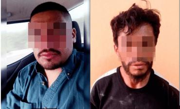 Detienen a dos sujetos acusados de violar a una menor
