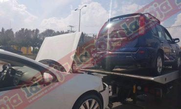 Carambola en la Carretera a Matehuala; no hubo lesionados