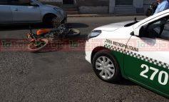 Motociclista arrollado en la Valentín Amador