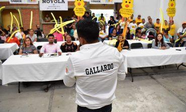 Por su trabajo y trato igualitario PRD triunfará en más municipios de S. L. P. : Gallardo Cardona