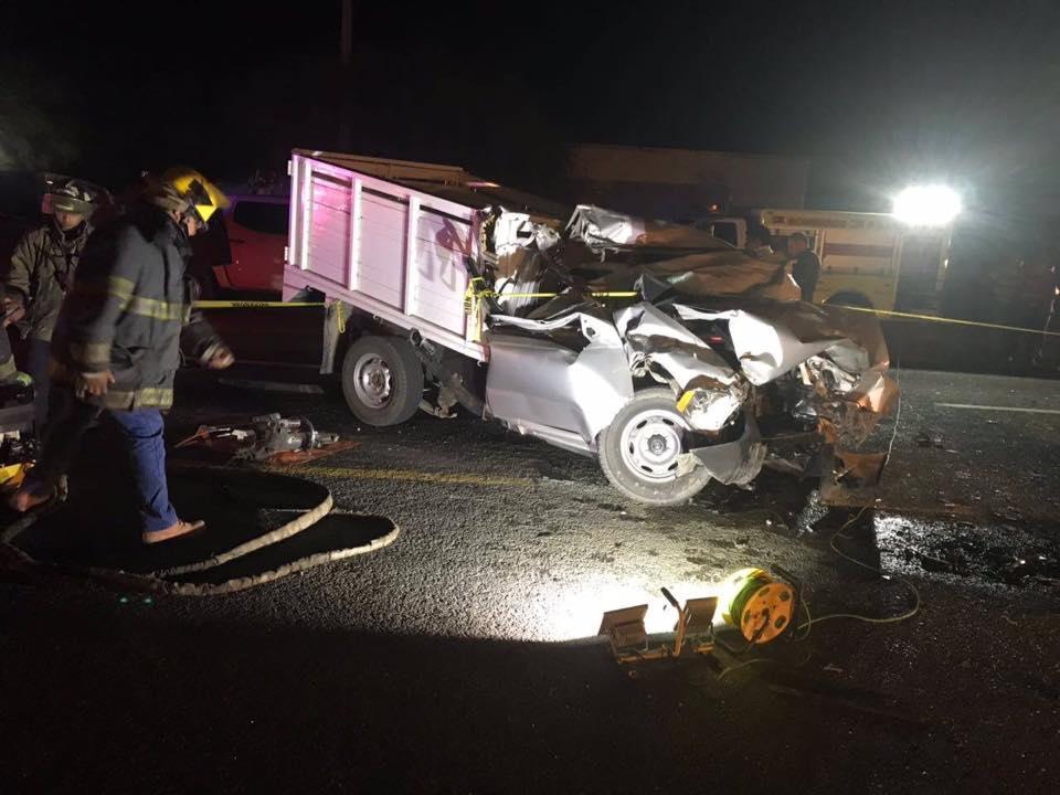 Matrimonio Por Accidente : Muere matrimonio en accidente carretero la roja