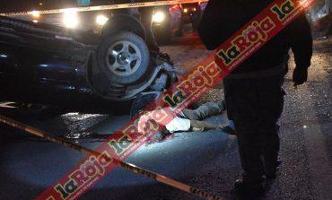 A más de 100 kilómetros por hora pierde la vida en la Carretera a Matehuala
