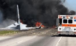 5 muertos al estrellarse avión militar de EU