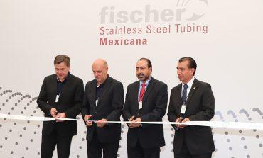 Expanden la planta Fischer Stainless Steel Tubing en la Capital; Alcalde resalta crecimiento económico