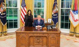 Kim Kardashian y Donald Trump se reunieron en la Casa Blanca... ¿Para qué?