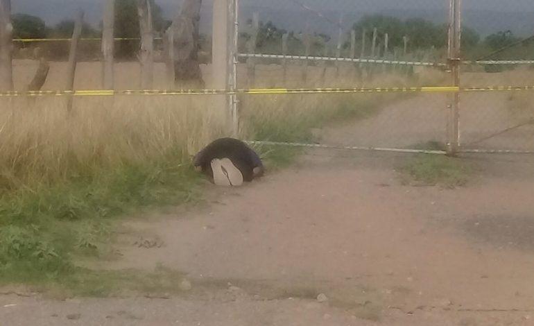 Encuentran cuerpo de hombre masacrado en Villa de Arriaga