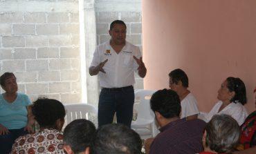 Reafirma Luis Fernando Gámez su compromiso con los más necesitados