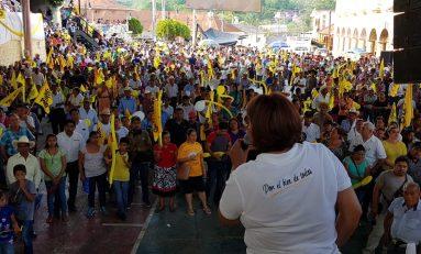 """""""Vamos  a combatir la pobreza en la Huasteca"""", compromiso de Leonor Noyola"""