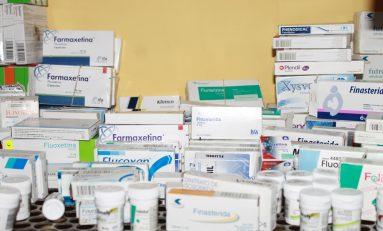 Hasta 40 habitantes por día son beneficiados con acopio de medicamentos
