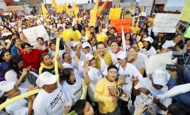Seguiremos pavimentando calles de colonias populares: Gallardo Juárez