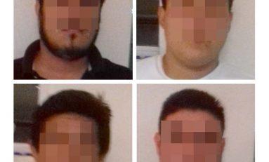 Cuatro narcomenudistas fueron capturados en flagrancia; arrastaran historial delictivo