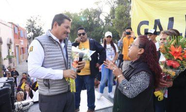 Seguiremos trabajando con sueldos reducidos para hacer más obra: Gallardo Juárez