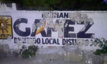 Actos de vandalismo contra propaganda del PRD, serán denunciados: Fernando Gámez Macías