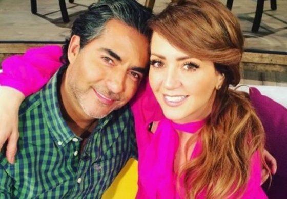 "Raul Araiza y Andrea Legarreta se pelean ""En Vivo"""