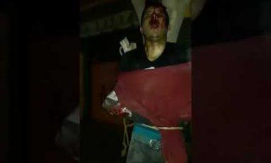 Ciudadanos detienen y vapulean a ladrón en La Angostura