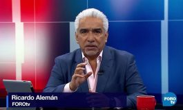 Televisa despide a Ricardo Alemán por tuit que incita a la violencia contra AMLO