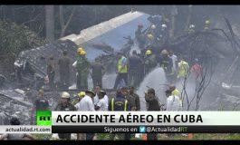 Se accidenta avión con más de 100 pasajeros en La Habana