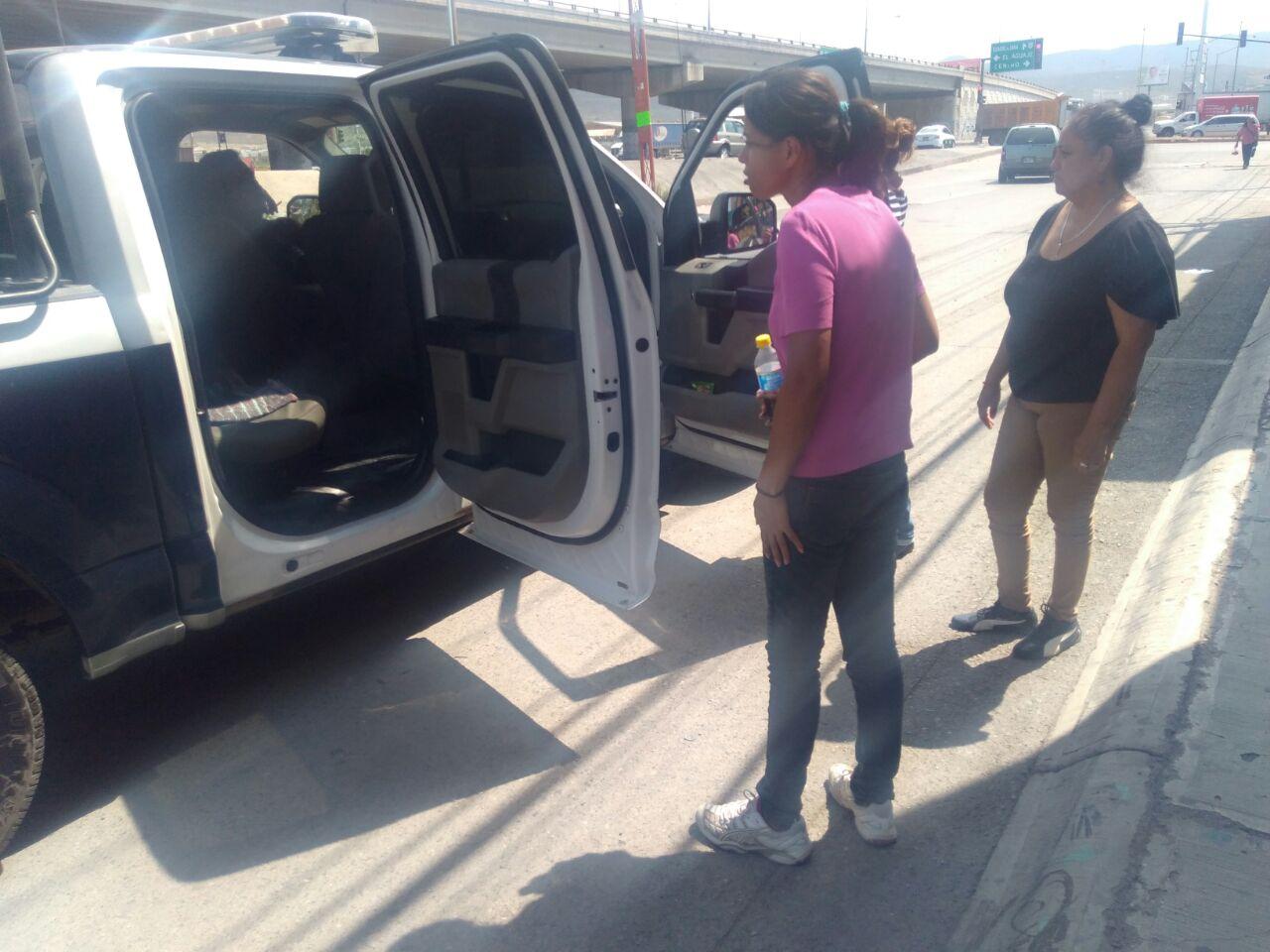 Municipales auxiliaron a fémina que deambulaba por la Ciudad