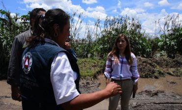 Alcaldesa de Soledad supervisa labores preventivas en zonas de riesgo