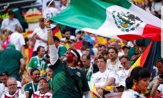 En Múnich, Alemania, mexicanos, entre ellos decenas de potosinos festejan el triunfo del TRI ante el campeón del mundo