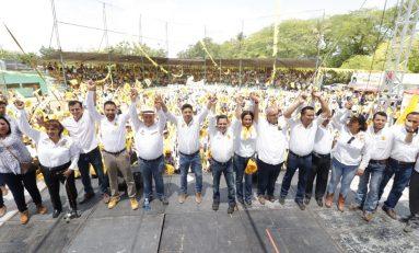 Con respaldo del PRD Nacional, el gallardismo conquista la Huasteca