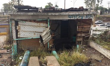 Cuadrillas municipales rehabilitaron caseta de INTERAPAS en Puente Pemex