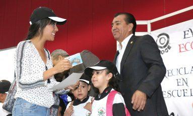 Alcalde de la Capital asiste a evento para la cultura del reciclaje y cuidado del ambiente