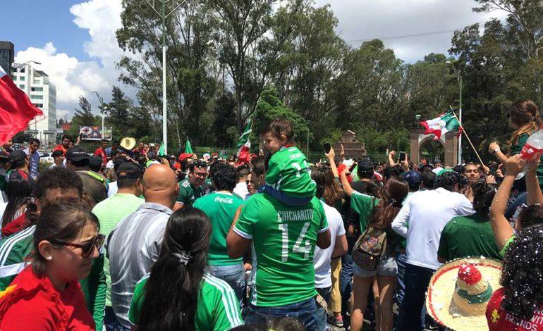 """Habrá operativo """"Euforia"""" para vigilar festejos sí gana la Selección Mexicana"""