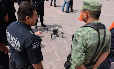 """Ojo de Águila"" permite mayores niveles de seguridad en Centro Histórico: DGSPM de SLP"