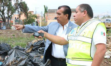 Alcalde recorre zona oriente de la ciudad; monitoreo constante a colonias afectadas